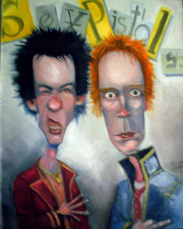 Sex Pistols by JaimeMArtist
