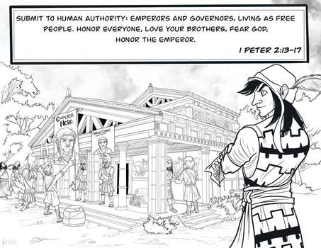 1 Peter 2:13-17 - Emperor