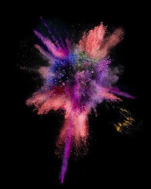 color burst wallpaper