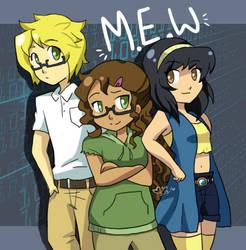 M.E.W. trio