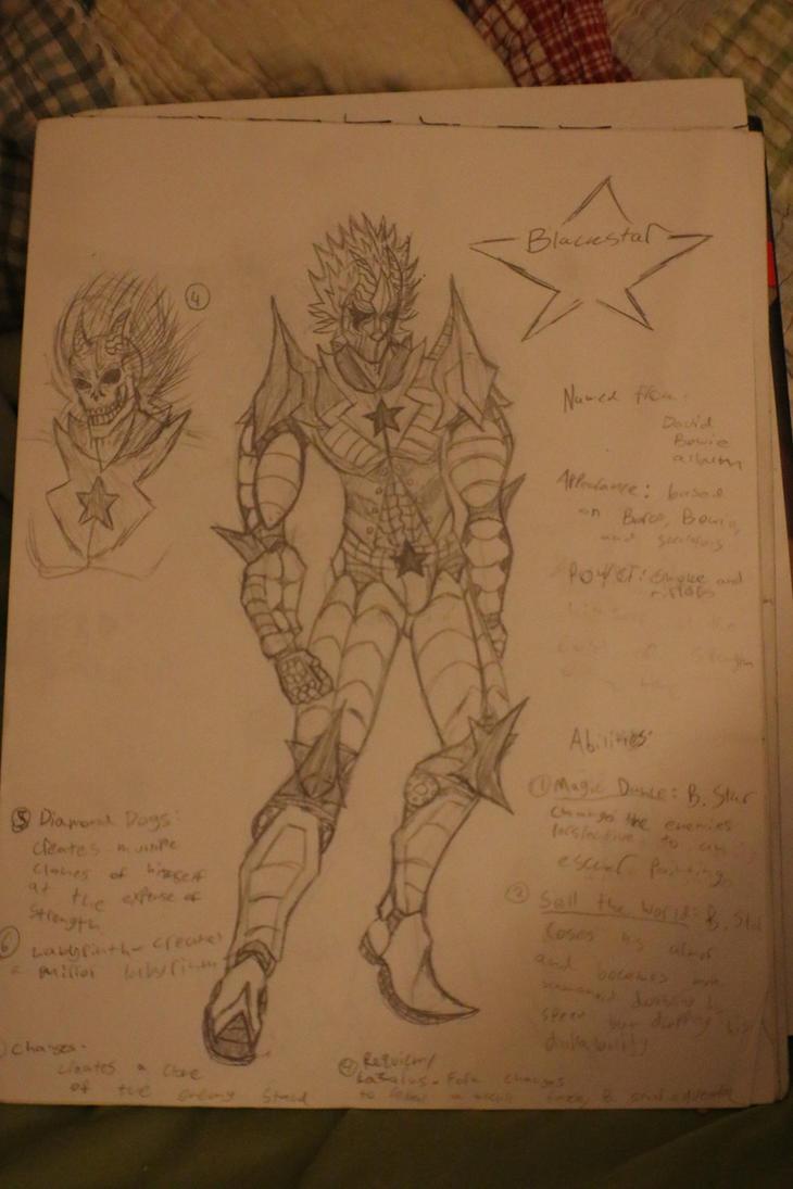 Blackstar: A Stand OC by thegr8mrfish