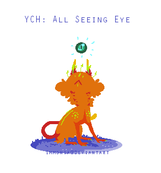 CCCat YCH: All Seeing Eye [Open] by Immonia