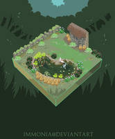 Littlewerevamp PixelWorld by Immonia