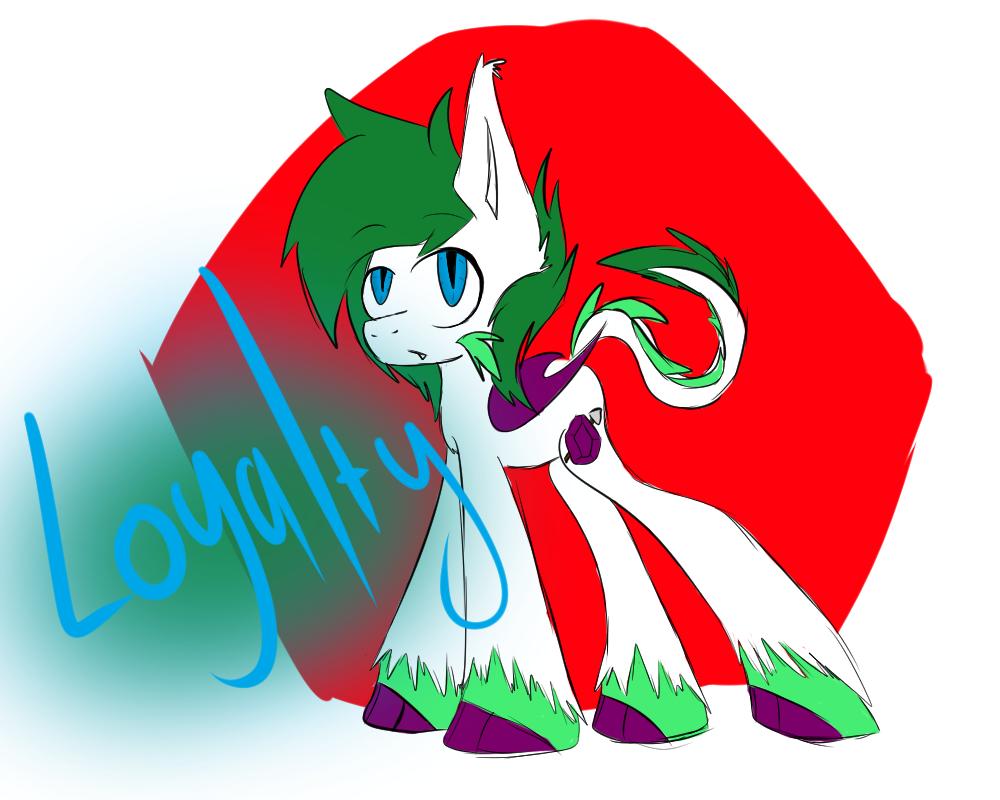 Emerald Shine - Element of Loyalty Next Gen by MidnightBlaze16