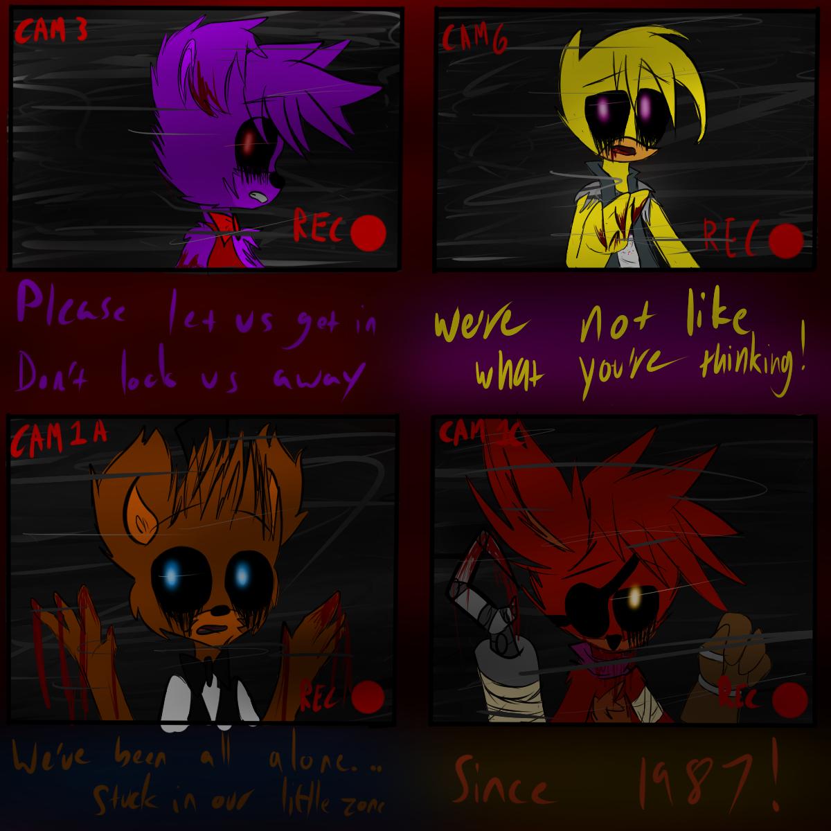 Five Nights At Freddy's!! by MidnightBlaze16
