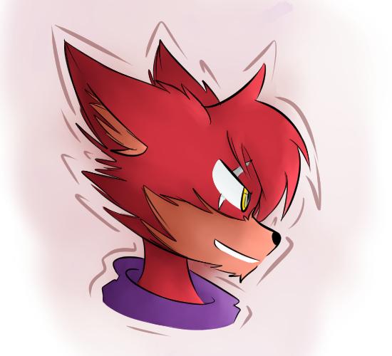 A Foxy by MidnightBlaze16
