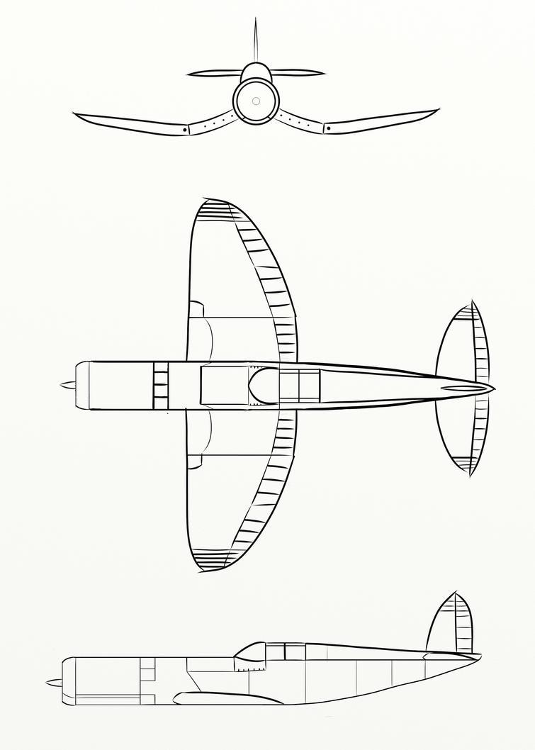 KP-1 Krigsfugl by MintgreenLynx