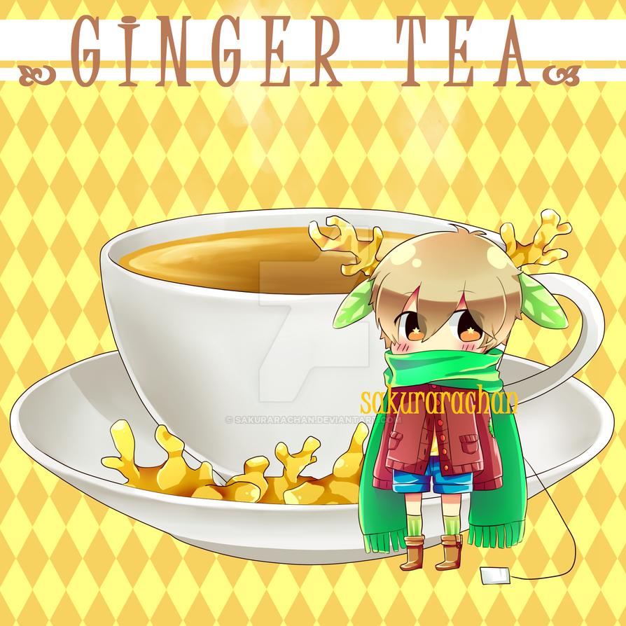 Adoptable Leccup : Ginger Tea [AUCTION CLOSED] by SakuRaraChan