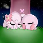 Kirby x Jigglypuff