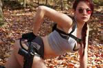 Lara Croft Tomb Raider Cosplay by ScarlettFoxx