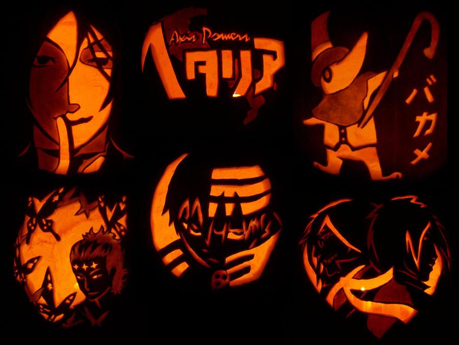 Anime Pumpkin Bonanza by begger4mcgregor