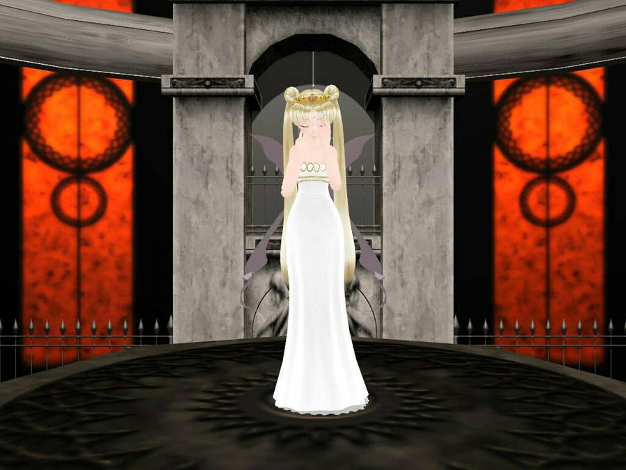 MMD (Sailor moon)Neo Queen Serenity _ Hello by animerelax1