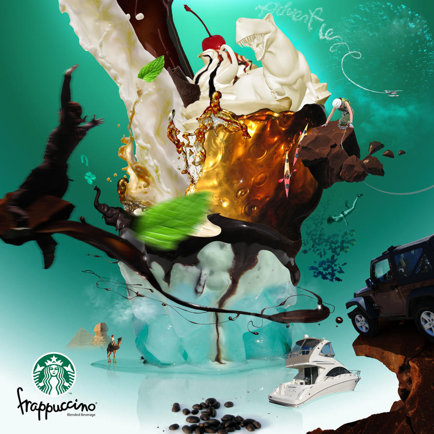 Frappuccino Adventure by K-07