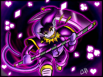 Deltarune Jevil: I CAN DO ANYTHING!!! by b1uewhirlwind