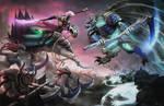 Slaanesh VS Undead