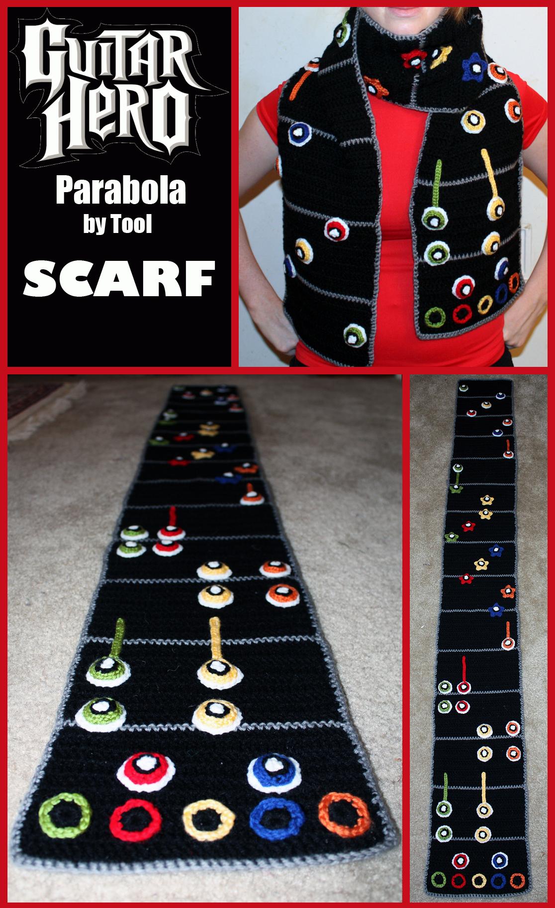 Guitar Hero Scarf by sapphiresphinx