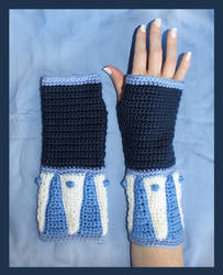 The Legend of Korra Crochet Gloves