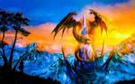 Dragon Photoshopped