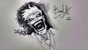 Joker warm-up!