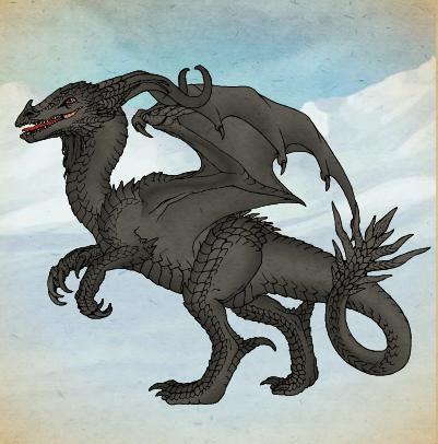 Disney's Snow Queen (Jorgen) Dragon Form by Hillygon