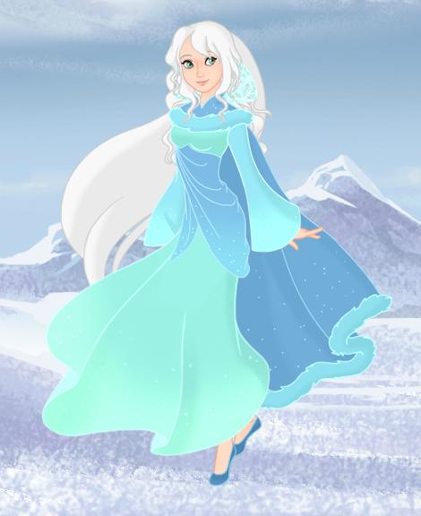 Disney's TSQ (Sigrid) Second Design Makeover-Cape by Hillygon
