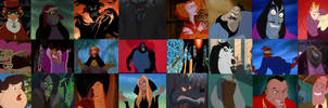 The Non-Disney Villains from the 90's