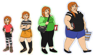 Penny Age/Weight Progression by Jennardacci by Hillygon