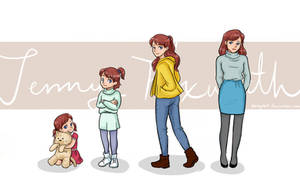 Jenny Foxworth Timeline By Daisy069 by Hillygon