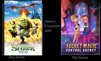 Shrek X Secret Magic Control Agency Crossover