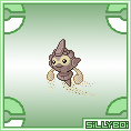 Rock Castform Sprite by Matt-Criston