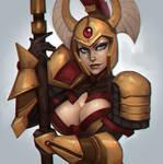 Tresdin the Legion Commander (SFW)