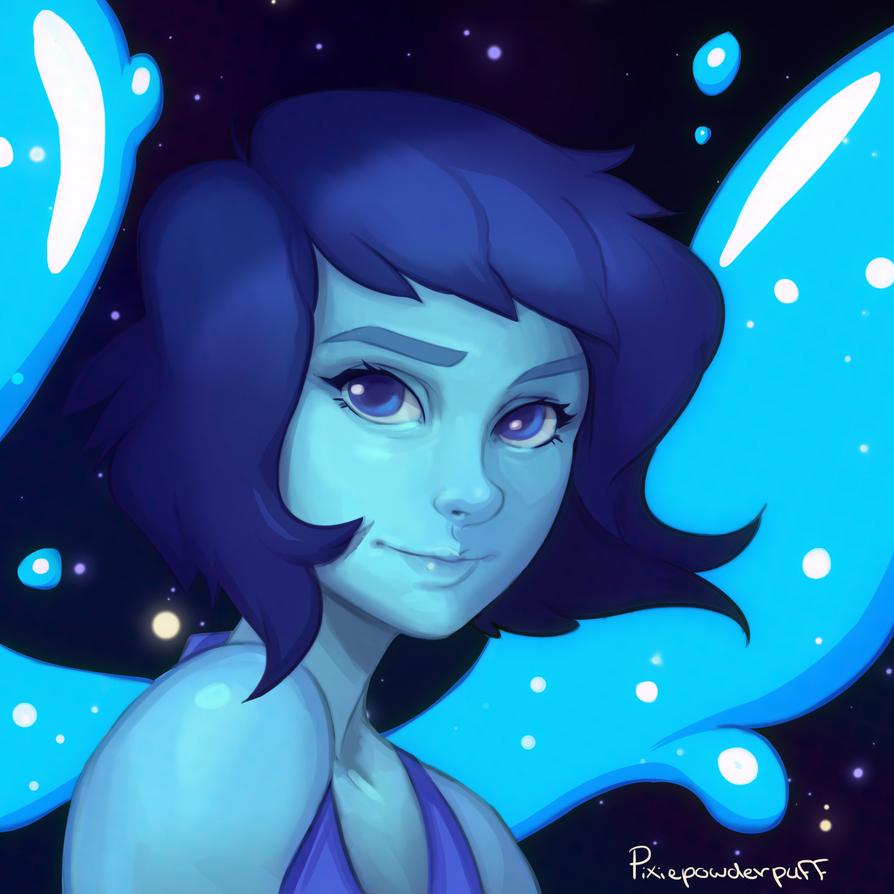 lapis lazuli steven universe by pixiepowderpuff on deviantart