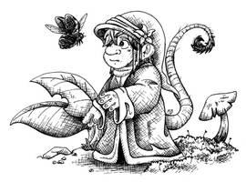 Fairy series - Gnome by Uzag