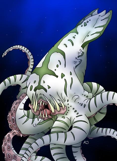 Kraken by Uzag