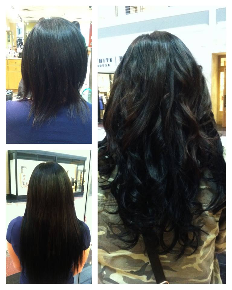 Before And After Babe Tape In Extensions By Hairandnailsbymolly On