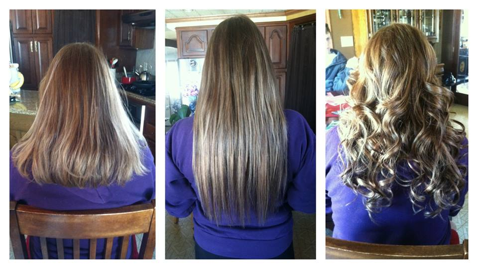 Before And After Babe Tape In Extensions 2 By Hairandnailsbymolly