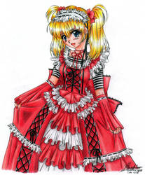 Red Lolita by sky-fish7