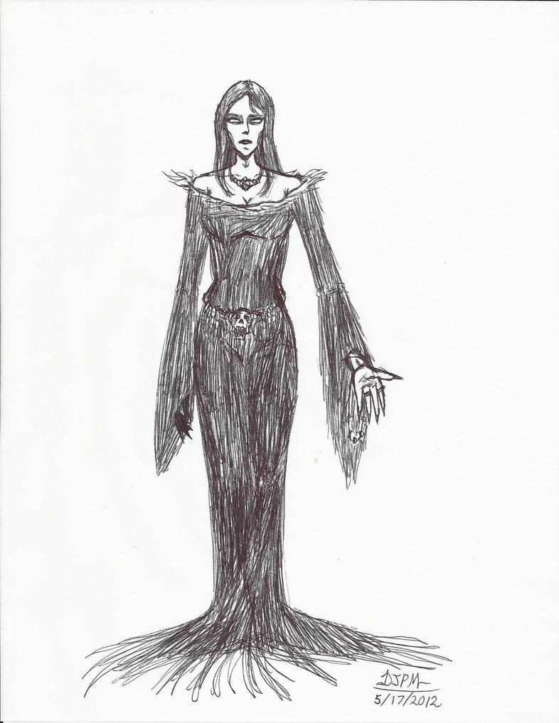 Vampire Countess Vanpirretra by DaevlionBelmont on deviantART
