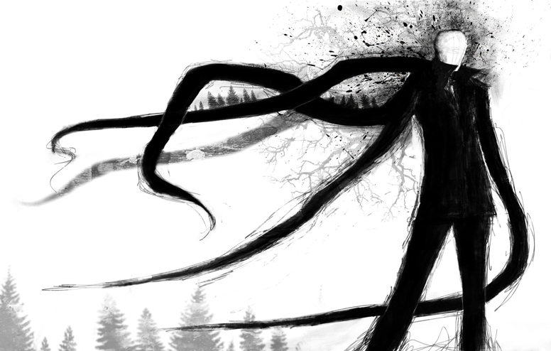 Slenderman by dickie0
