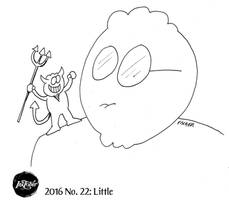 Inktober 2016 #22: Little by AberzombieLiche