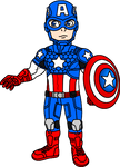 Captain America (Rogers) - Marvel NOW! costume