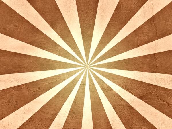 Brown Grunge Sunburst by R2krw9