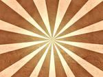 Brown Grunge Sunburst