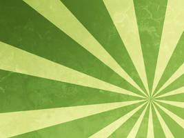 Large Green Sunburst by R2krw9