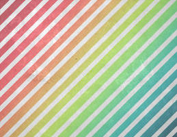 Rainbow Grunge Stripe by R2krw9