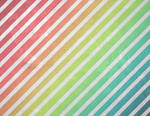 Rainbow Grunge Stripe