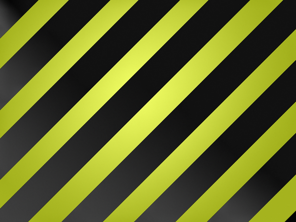 Large Stripe: Black and Green by R2krw9