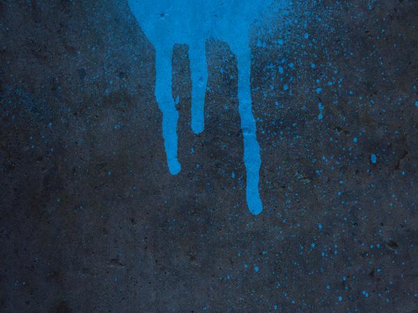blue spray paint by r2krw9