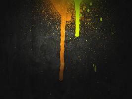 Halloween Paint Drip by R2krw9