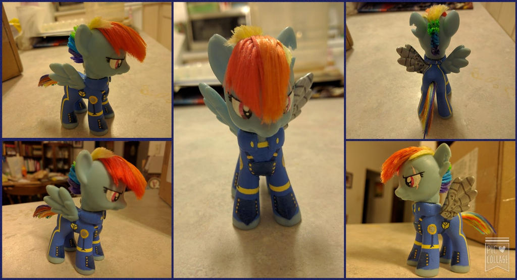 Season 5 Finale Rainbow Dash Custom by nikkifox1019